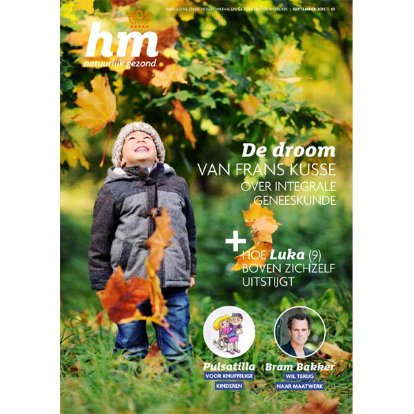Homeopathie Magazine september 2015