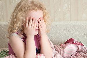 Mijn dochter van acht heeft voortdurend nachtmerries.