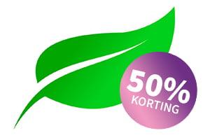 50% korting op een bezoek aan een homeopaat