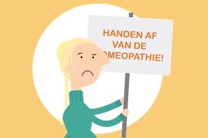 Petitie Handen af van de Homeopathie