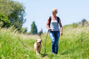 Vrouw in de overgang menopauze vijftig jaar