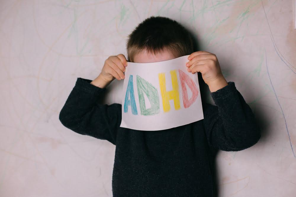 Jongen met ADHD