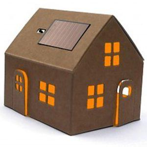 Casagami huisje op zonne-energie