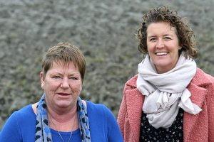 Carlijn van der Linde vond steun bij homeopaat Ina van Andel