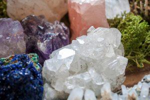 Mineralen, edelstenen en gassen